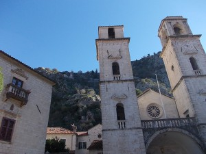 Kotor eglise clocher