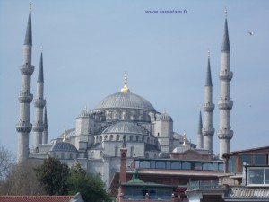 mosquee Istanbul blue