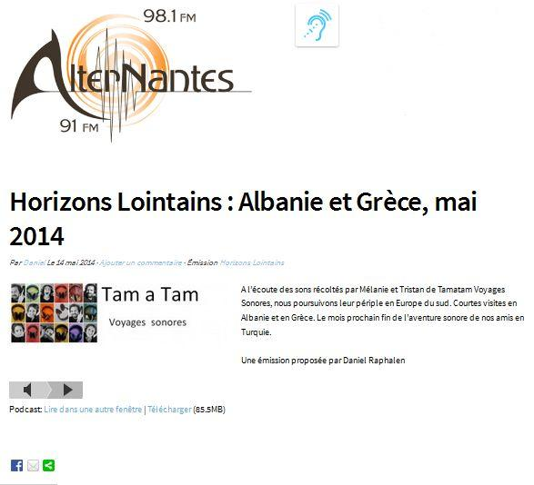 Alternantes Albania Greece